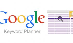 El Planificador de palabras claves de Google
